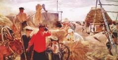 Пластов А. А. Колхозный ток