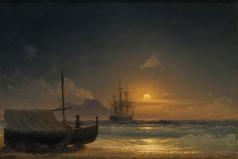 Айвазовский И. К. Неаполитанский залив
