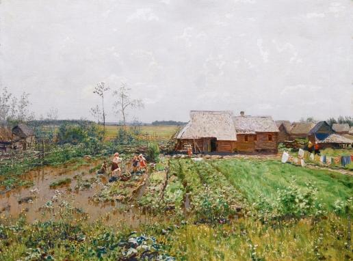 Дубовской Н. Н. После дождя