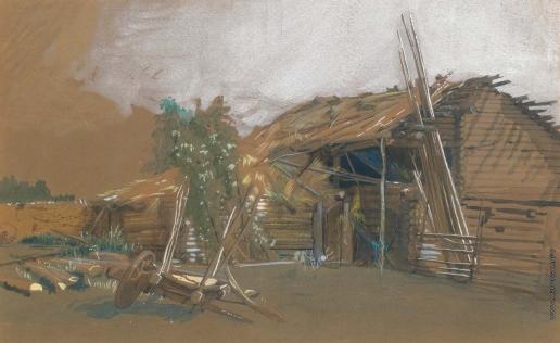 Крамской И. Н. В деревне