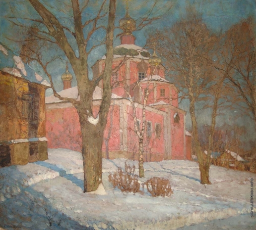 Леднев-Щукин С. Е. Зимняя церковь
