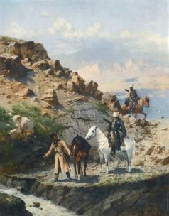 Рубо Ф. А. На Кавказе
