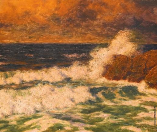 Шультце И. Ф. Морской пейзаж