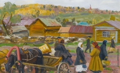 Бычков В. П. Вид на Дмитриев
