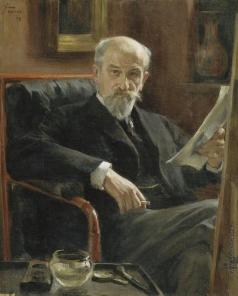Браз О. Э. Портрет художника А.П. Соколова