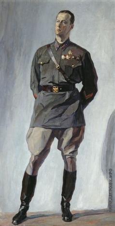Корин П. Д. Портрет летчика М.М. Громова