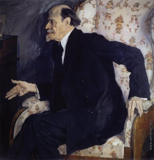 Корин П. Д. Портрет художника М.В.Нестерова
