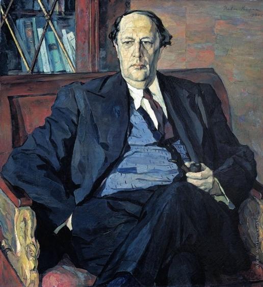 Корин П. Д. Портрет А.Н.Толстого