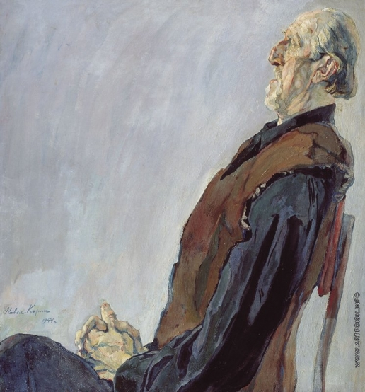 Корин П. Д. Портрет М.К. Холмогорова