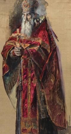 Корин П. Д. Отец Сергий Успенский старший