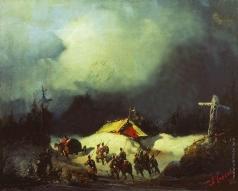 Боголюбов А. П. Отправление декабристов в ссылку в Финляндию