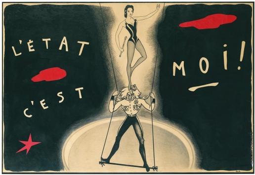 Анненков Ю. П. Плакат к фильму «Лола Монтес»