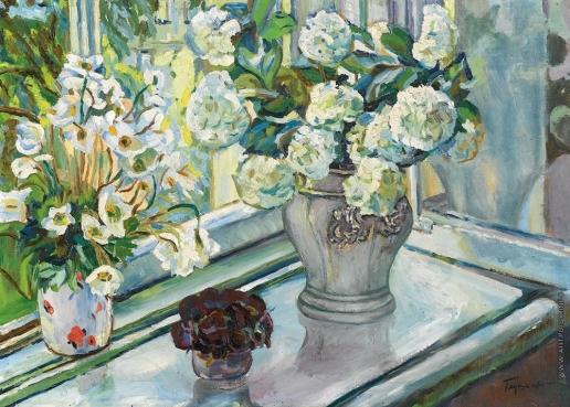 Глущенко Н. П. Натюрморт с цветами