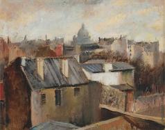 Рохлина В. Н. Парижские крыши