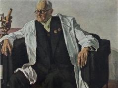 Корин П. Д. Портрет академика Гамалея