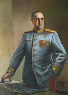 Яковлев В. Н. Портрет маршала Георгия Жукова