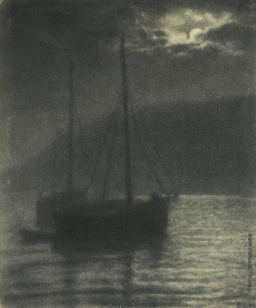 Улитин В. И. Ночь на море