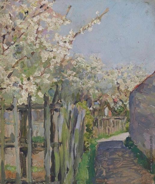 Якунчикова М. В. Деревья в цвету