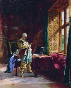 Якоби В. И. Перед дуэлью
