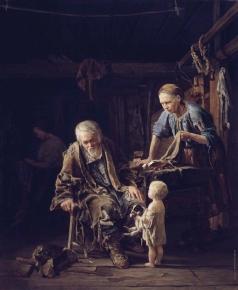 Якоби В. И. Светлое Воскресенье нищего