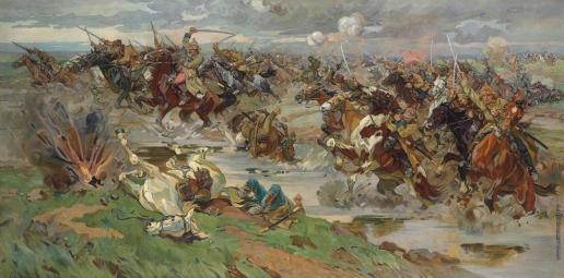 Самокиш Н. С. Красная кавалерия на Перекопе