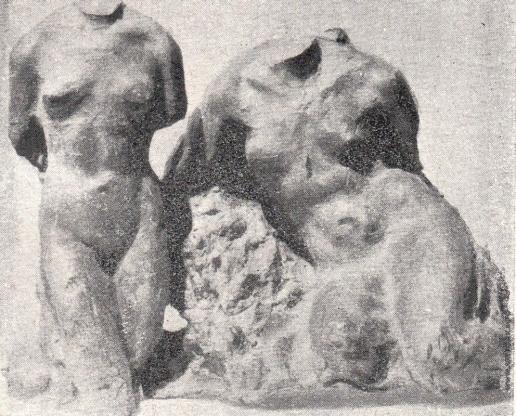 Голубкина А. С. Два торса