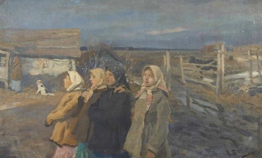 Степанов А. С. рестьянки из деревни