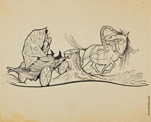 Чехонин С. В. Иллюстрация к детской книге «Скок-Поскок»