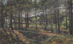 Маковский В. Е. Лес с домами