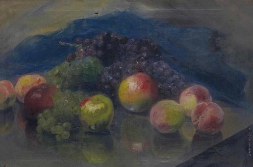 Шмаров П. Д. Натюрморт с фруктами