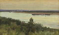 Переплетчиков В. В. На реке