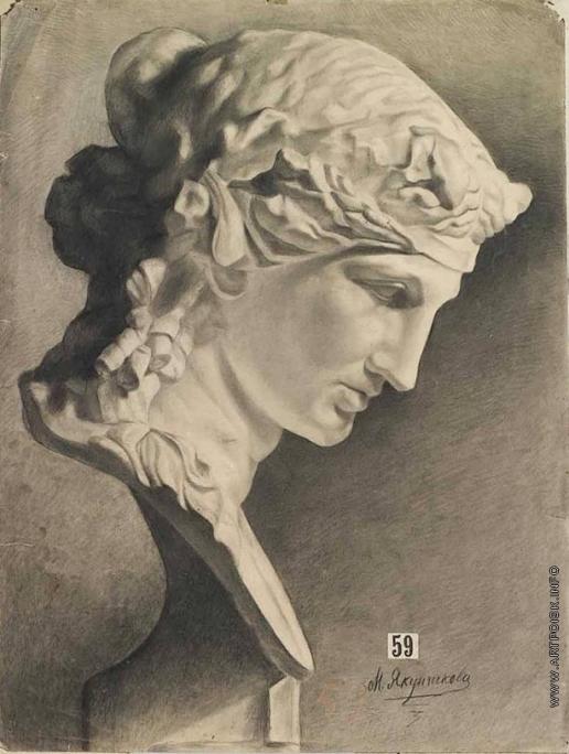 Якунчикова М. В. Венера. Учебный рисунок