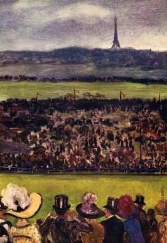 Кругликова Е. С. Скачки в Париже