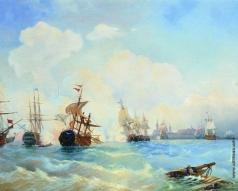 Боголюбов А. П. Ревельский бой 2 мая 1790 года