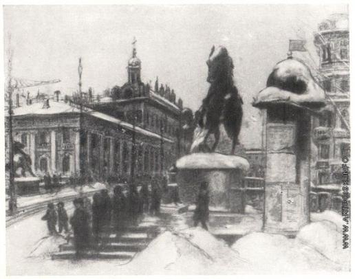 Кругликова Е. С. Аничков мост