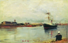 Боголюбов А. П. Санкт-Петербург. Морской канал