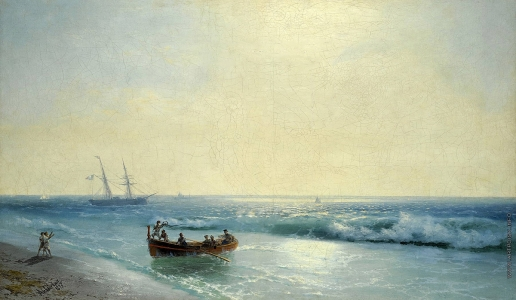 Айвазовский И. К. Моряки сходят на берег