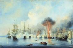 Боголюбов А. П. Синопский бой 18 ноября 1853 года