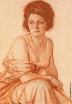 Стеллецкий Д. С. Женский портрет