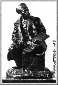 Волнухин С. М. Портрет художника С. В. Иванова