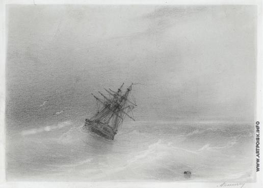Айвазовский И. К. Открытое море