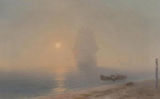 Айвазовский И. К. Отплытие в тумане