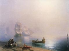 Айвазовский И. К. Утро в Неаполитанском заливе
