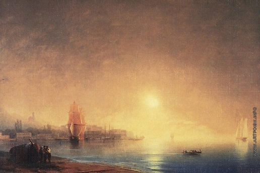 Айвазовский И. К. Утро на берегу залива