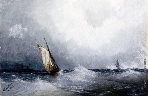 Айвазовский И. К. Черное море
