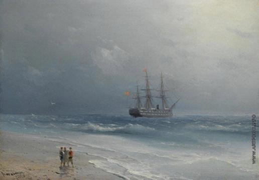 Айвазовский И. К. Море успокаивается