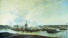Боголюбов А. П. Сражение при Гангуте 27 июля 1714 года. 1875–