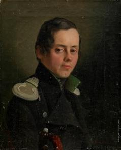 Тулов Ф. А. Портрет молодого офицера