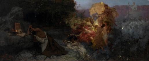 Семирадский Г. И. Искушение святого Иеронима