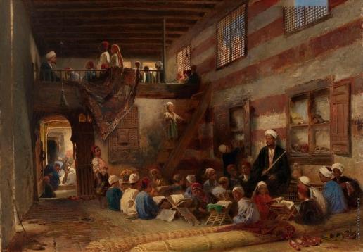 Маковский К. Е. Школа в Каире